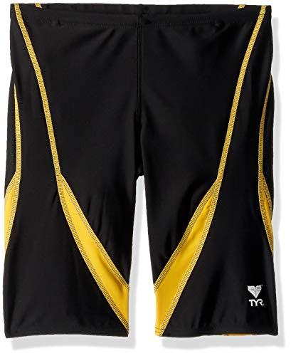 TYR Badeanzug Alliance Splice Jammer, Herren, schwarz/Gold, Size 32