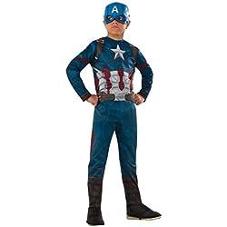 Rubies Capitán América Classic Civil War, Disfraz para niños, talla M