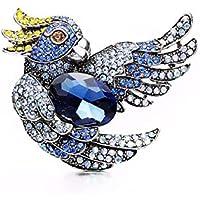 KUNQ Lindo Broche/Simple Taladro De Diamante Wild Ornamento Broche Broche Broche De Traje De Los Hombres Top Sweater Y Accesorios.