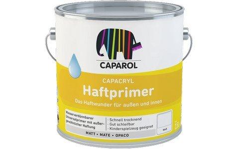 Caparol Capacryl Haftprimer Größe 2,5 LTR, Farbe silbergrau