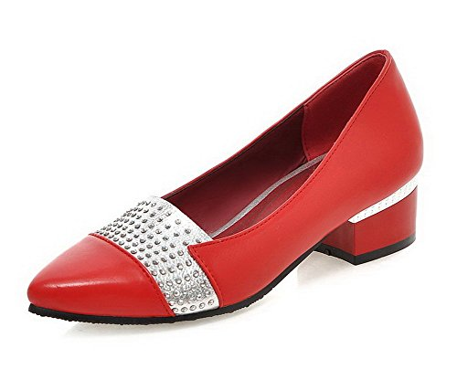 allhqfashion-womens-soft-material-low-heels-pull-on-pointed-closed-toe-pumps-shoes-red-34