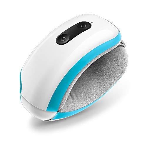 Breo iSee 3s Elektrische Augenmassagegerät mit Wärme Kompression, Luftdruck, Natürlicher Musik, Akku für Trockene Augen, Fatigue Relief, Warmes Geschenk