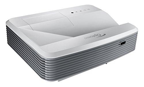 Optoma EH319USTi Ultra Kurzdistanz DLP Projektor (Full HD, interaktiv, 3500 Lumen, 18000:1 Kontrast, 3D)