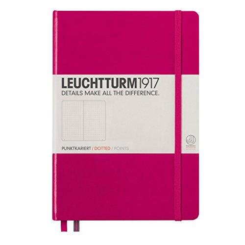 Leuchtturm1917 344809 Carnet Medium (A5), 249 pages numérotées, baie, pointillés