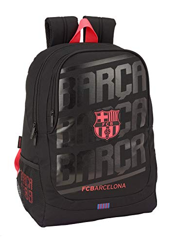 "Safta 2019 (Enero)-F.C.Barcelona ""Black"" Mochila Adaptable A Carro"