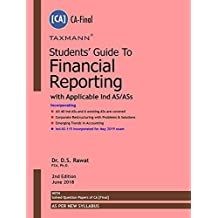 Students' Guide to Financial Reporting With Applicable Ind AS/ASs (CA-Final-As Per New Syllabus)