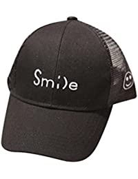 7371a133c1dbed Prevently Snapback Basecap Stickerei Buchstaben Baseball Süße Kinder Kind  Smil Brief Stickerei Spitze Kinder Brief Stickerei