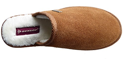 Dunlop Ewan, Pantofole uomo Chestnut