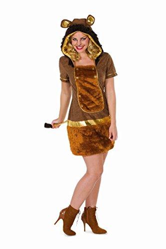 Damen Kostüm Löwe Löwin Löwenkostüm Karneval Fasching - Löwe Und Löwin Kostüm