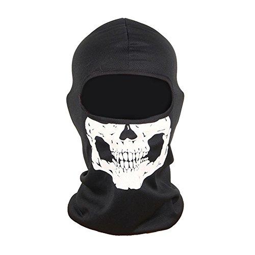 Sturmhaube, Maske, Motiv Totenkopf, für Motorrad/Ski/Paintball