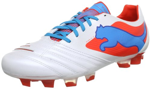 Puma  PowerCat 2 FG, Chaussures de football homme blanc