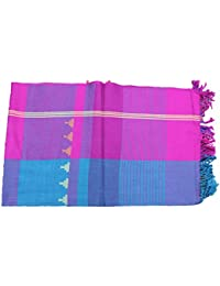 Genuine Hand Woven Kullu Woollen Stole-Multi- Colored With Beautiful Hand Made Embroidery For Women And Girls.