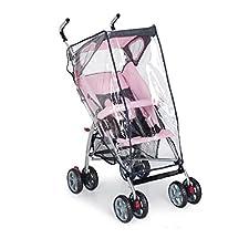Abdeckplane Regenschutz für Kinderwagen, Erste Kindheit Plebani * 15648