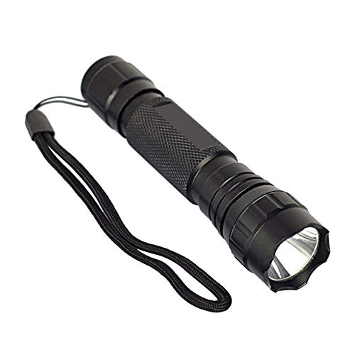 POLPqeD Linterna de UV WF-501B LED 365NM Ultra Violeta Blacklight Linterna Antorcha 18650 Lámpara de luz Linterna LED Impermeable Faroles de Mano Super Brillante Luces linternas de acampada marcha