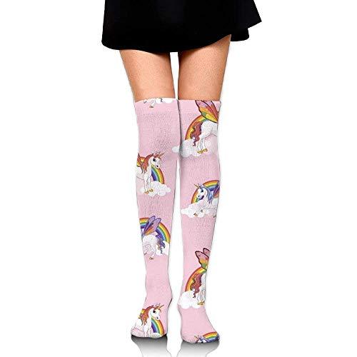 orn Women Vintage Thigh High Socks Thermal Socks for Teen Girls ()