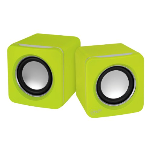 Arctic S111 - Altavoces para PC (USB, 2.0, 3.5 mm) color amarillo
