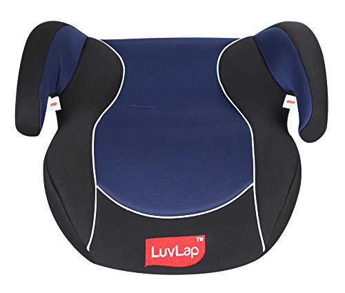 Luv Lap Backless Booster Baby Car Seat (Blue)