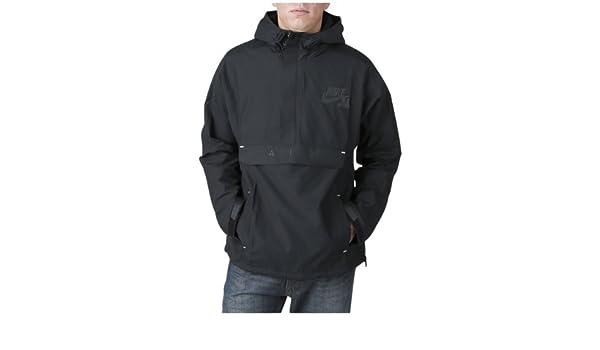 Nike – Basket – BB Heritage Half Zip Jacket Hoodie, Schwarz