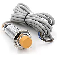 Heschen Interruptor de sensor de proximidad capacitivo, detector LJC18A3-Z/BX, 10 mm, 6-36 V CC, 300 mA PNP, normalmente abierto (NO) 3 cables