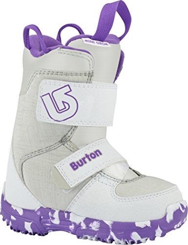 BURTON MINI GROM Boot 2018 white/purple, 30.5 (Mini Burton)