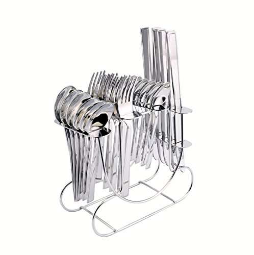 Koko Gleen Cutlery Set of Spoons and Fork 24 Pcs. with Stand(DK)