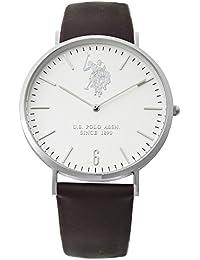 Reloj U.S. Polo ASSN. Rebel Hombre Piel Solotempo Slim usp4359st
