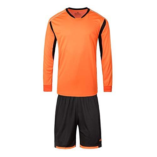 Zay Luay Herren Langarm-Light Board Shorts Sportswear Anzug langärmelige Kleidung Spieler Jersey Feuchtigkeit Wicking Trainings-Kleidung Spiel (Color : A, Size : XL) -