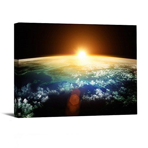 1-piece-avec-encadree-des-impressions-illustrations-planet-photos-peintures-sur-toile-art-mural-pour