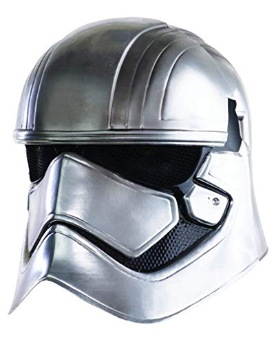 Kostüm Falcon Captain - Star Wars VII Captain Phasma Helm 2-teilig