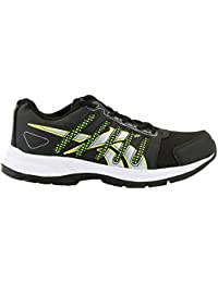 Just Xccessories Men's Black::Green Sports Shoes