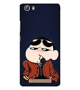 EPICCASE Ching Shang Mobile Back Case Cover For Gionee Marathon M5 lite (Designer Case)
