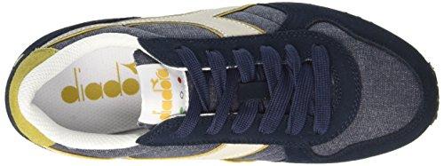 Diadora K-Run C Ii, Sneaker a Collo Basso Unisex – Adulto Blu (Blu Profondo/Beige Rattan)