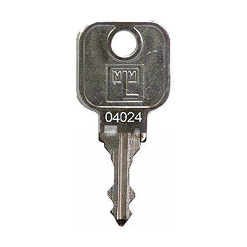 MLM EuroLocks ASSMAN Vitra L&F Ersatzschlüssel - Schließung 04001 bis 04100 - u.a. für Hebelzylinder,Möbelschlösser,Schrankschlösser - Schließung 04045