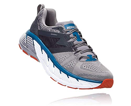 Hoka 1099629-FGSR: Men's Gaviota 2 Gray Frost/Seaport Running Shoe (8.5 D(M) US Men)