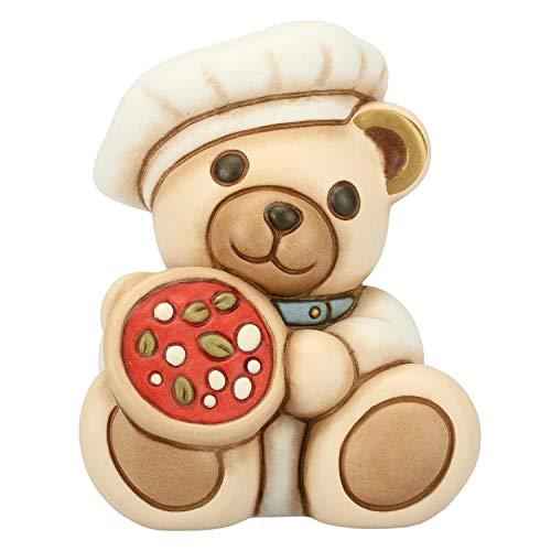 Thun® - teddy on the road napoli italia - animali soprammobili da collezione - ceramica - i classici