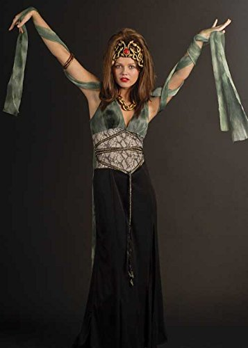 Imagen de disfraz de diosa griega damas medusa alternativa
