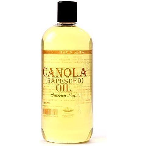 Olio Portante di Canola (Colza) - 1000ml - Puro al
