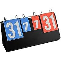 VGBEY Marcador Deportivo, Tablero de Tablero con 4 dígitos para Mesa de Ping Pong, Fútbol, Baloncesto, Natación