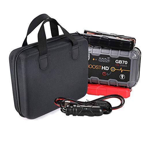 Preisvergleich Produktbild Quaan Tragbare Eva Tasche für NOCO Genius Boost GB70 UltraSafe Lithium Starthilfe