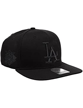 '47 Brand MLB Los Angeles Dodgers Sure Shot Black On Black Captain-Gorra de béisbol Unisex adulto