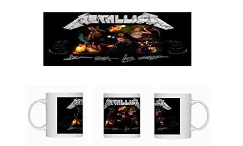 Metallica (Autographs) Tazza in ceramica