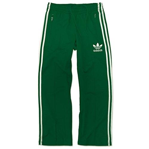 ADIDAS Originals Europa TP Beckenbauer Trainingshose Hose Sporthose GRÜN WEIß, Größe:XL, Farbe:Grün