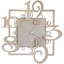 Amazon.it: orologi da parete vetro - 1 stella e più