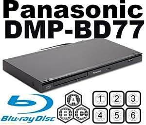 Lecteur Blu Ray PANASONIC DMP-BD77 CodeFree Blu ray Player