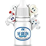 10 ML Zähne Aufhellung Wasser OdeJoy Hygiene Reinigung Pflege Zahn Aufhellung Plakette Zähne Gehe Zu Rauchflecken Teeth Waschpulver Wasser Mundwasser,Sprays,Atemerfrischer Zahnpflege (1 PC, Weiß)
