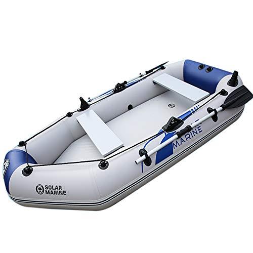 Canot Pneumatique - Bateau De Pêche Épais Bateau Pneumatique 2-3 Personnes En Kayak Bleu Et Blanc 2 Mètres (2-3 Personnes)