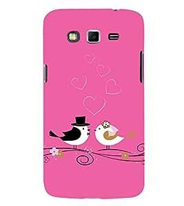 FIOBS pink theme christian wedding cute bird romantic love true Designer Back Case Cover for Samsung Galaxy Grand Neo Plus I9060I :: Samsung Galaxy Grand Neo+