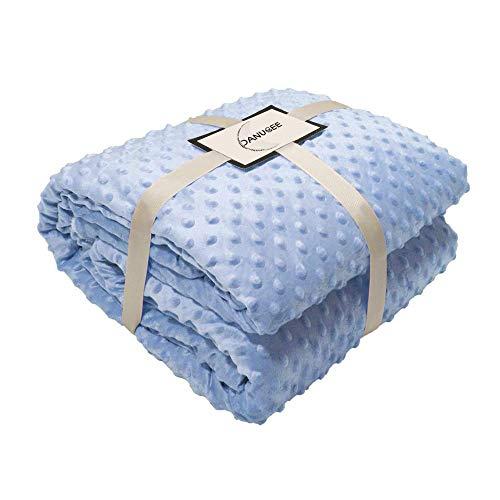 Mikrofaser-stuhl-bett (DANUBEE Weicher und bequemer Minky Stoff - perfekt für Erwachsene, Plüsch-Überwurfdecke für Couch, Stuhl, Bett, leicht, warm 59