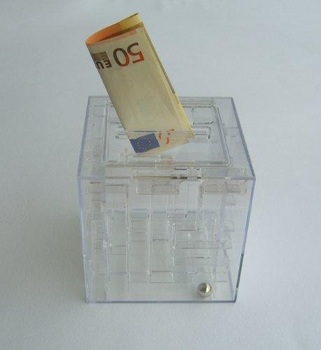 9100 Labyrinth Design - Geschenkewürfel - Spardose - Spielerisch verpackt : eine pefekte Geschenkverpackung