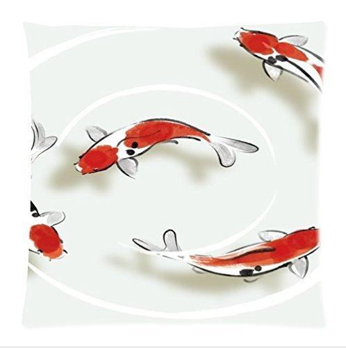 Japanese Koi Fish | Japanese Koi Carp Pillowcases Al Mejor Precio De Amazon En Savemoney Es